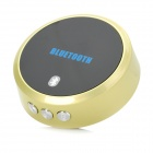 Link-381 Bluetooth Audio Receiver for Iphone + Ipad + MID + More - Yellow + Black