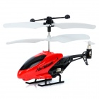 Lead Honor LH1210 Mini 3.5CH Plastic IR RC Helicopter w/ Gyroscope - Red + Black (3 x AG10)