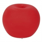 Apple Shaped PVC Colorful Night Lamp - Red (Size S)