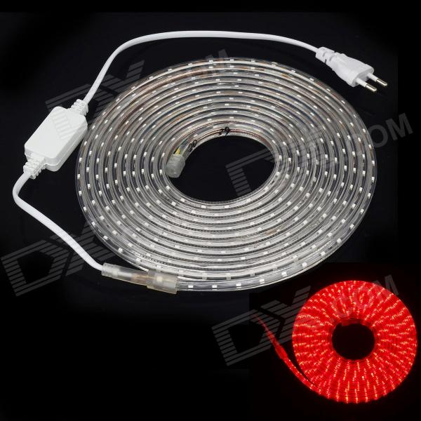 ZiYu JB01 Waterproof 18W 2100lm 300-SMD 3528 Red Light Strip (5m / 220V / EU Plug)