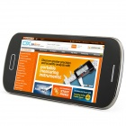 "S9 Android 4.1.1 GSM Bar Phone w/ 4.0"" Capacitive Screen, Quad-Band and Wi-Fi - Black"