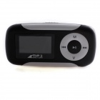 "PM-002 1.2"" LCD Multifunction MP3 Player w/ FM / Voice Recorder - Black + White"