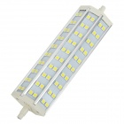 R7S 13W 1100lm 6500K 60-5050 SMD LED White Light Lamp - White + Silver + Yellow