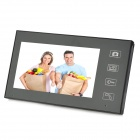 "806MJW12 Rainproof Visible 2.4GHz 2 x 7"" Touch Screen Wireless Video Door Phone w/ Night Vision"