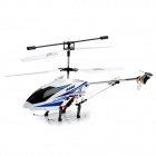 Lanxiang H2026 3.5-CH Radio Control R/C Helicopter w/ Gyro / Flashlight - Blue + White + Black