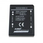 4-Pin Waterproof 24V 0.25A 6W Power Constant Voltage Source Module - Black (AC 100~240V)
