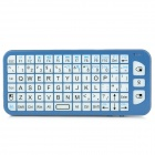 DITTER M8 2.4GHz Wireless QWERTY Keyboard 3D Gyro Air Mouse Combo - Blue + White