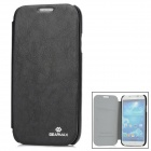 GEARMAX Protective PU Leather Case w/ Sleep Mode for Samsung Galaxy S4 i9500 - Black