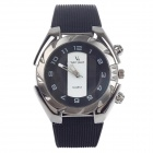 Super Speed V0181 Men's Stainless Steel Quartz Analog Wrist Watch - Black + White (1 x LR626)