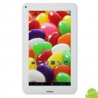 "F816 7"" Capacitive Screen Android 4.1 Dual Core Tablet PC w/ SIM / GPS / TF / Wi-Fi / Camera - White"