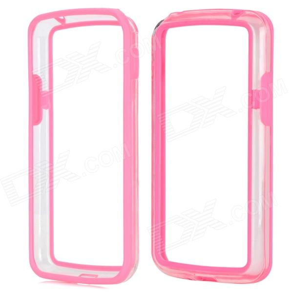 Stylish Protective TPU + PC Bumper Frame for LG Nexus 4 E960 - Pink wholesale original dlp projector color wheel for optoma ep728i color wheel