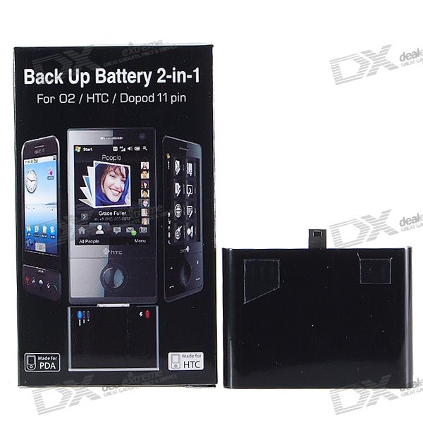 1800mAh USB Rechargeable External Battery Pack for HTC Touch Diamond