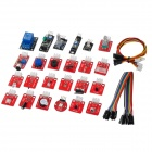 Keyes 24-in-1 Sensor Module Set for Arduino - Multicolored (Works with official Arduino Boards)