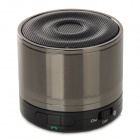 SLANG M2 Bluetooth V3.0+EDR Voice Prompt Bass Speaker for Ipad / Iphone / Samsung / HTC - Silvergray