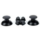 Joystick Cap  w/ Cross Shaped Direction Key Shell for Ps3 Wireless Controller - Black (3 PCS)