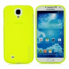 Remax BDS4-Y Protective Plastic Back Case for Samsung Galaxy S4 i9500 - Fluorescent Yellow