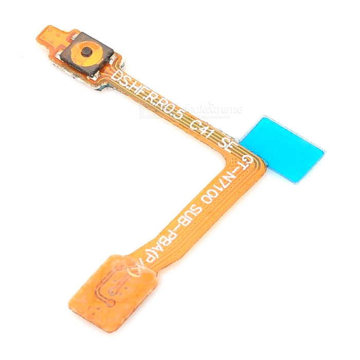 Replacement Power Flex Cable for Samsung Galaxy Note II N7100 - Golden replacement front camera flex cable for samsung galaxy note 2 n7100 black golden