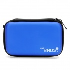 Protective Artificial Leather Hard Case for Nintendo NDSi / NDSL - Deep Blue