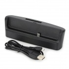 Multi-Functional Cell Phone + Battery Data / Charging Dock w/ USB Cable for Blackberry Z10 - Black