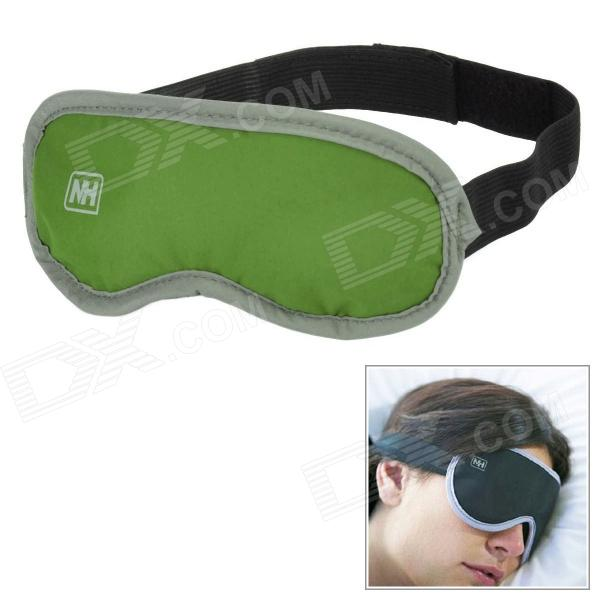 Naturehike-NH Travel Nylon Sleeping Eyeshade w/ Dried Lavender - Green lovely travel nap cartoon crown long eyelashes eyeshade sleep mask
