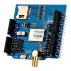 GlobalSat GPS Development Expansion Board w/ Micro SD Card Slot for Arduino - Blue + Black