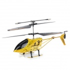 LH1104 Crash Resistant Stable 3.5-CH IR Remote Control R/C Helicopter w/ Gyro - Golden
