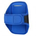 Sports Armband Gym para HTC ONE M7 - Azul + Preto