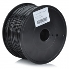 DGDY03 PLA Filament Spool for Makerbot / Mendel / BFB3000 Series 3D Printer - Black (1.75mm)