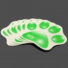 XJY-01 Safe PET Non-Slip Mats for Children - Green + White (6 PCS)