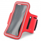 Sports Gym Nanometer Armband Case for Sony Xperia Z L36h C6603 - Red + Black + Grey