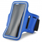 Sports Gym Nanometer Armband Case for Sony Xperia Z L36h C6603 - Blue + Black + Grey