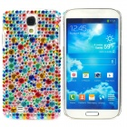 Fashionable Shiny Crystal Plastic Back Case for Samsung Galaxy S4 i9500 - Multicolored