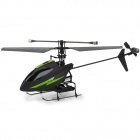 YD917 4-CH Single Propeller 2.4GHz Radio Control Dual Servo R/C Helicopter w/ Gyro - Black + Green