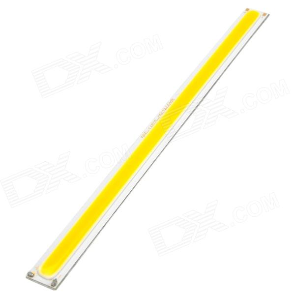 7W 630lm 3500K Warm White Light COB LED Rectangle Strip for Spotlight / Ceiling - Silver (DC 15~17V) aluminum project box splitted enclosure 25x25x80mm diy for pcb electronics enclosure new wholesale