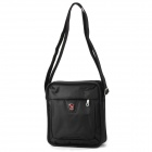 Oiwas 5378 Water Resistant Nylon Casual Shoulder Bag - Black (4L)