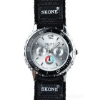 Skone Men's Nylon Band Quartz Wrist Watch (1*LR626)