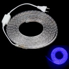 ZiYu JB005 Waterproof 60W 4500lm 300-3528 SMD Blue Light Strip (5m / AC 220V / EU Plug)