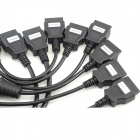 8-in-1 OBDII Adapter Converter Cable Pack for Truck Diagnostic Tool
