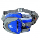 NatureHike YB02 Multifunctional Outdoor Nylon Waist Bag - Blue + Gray (3L)