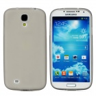 Protective Matte TPU Case w/ Anti-dust Plug for Samsung Galaxy S4 - Grey