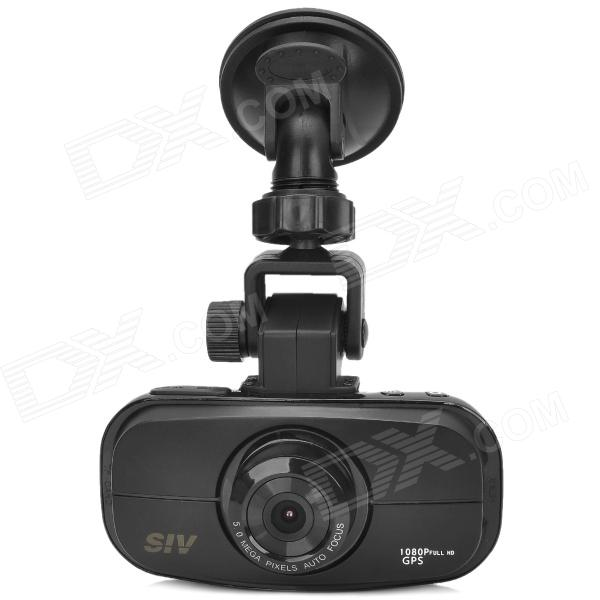 SIV-M6S Ambarella A2S70 1080p 140 Degree Wide Angle Car DVR w/ GPS Tracking / Night Vision (2.7) - DXCar DVRs<br>Brand SIV Model M6S Qty 1 piece(s) per pack Color Black Material Plastic Chipset Ambarella A2S70 Camera Lens 1 Image Sensor CMOS Image Sensor Size 1/4 degree Front Camera Pixel 5.0MP Optical Zoom No Digital Zoom 4X Wide Angle 140 degree Focus Range 2.8mm Aperture Range 2.5mm Screen Size 2.7 inch Screen type TFT Screen Resolution 960 x 240 Pixels Exposure Compensation 00.30.711.31.72-2-1.7-1.3-1-0.7 -0.3 ISO Auto100200400 800 Anti-Shake No White Balance Mode Automatic sunny cloudy fluorescent lamp tungsten filament lamp Scene Mode Auto Video Format MOV Decode Format H.264 Video Output NTSC / PAL Video Resolution 1080P30 720P60 720P30 WVGAP60 WVGAP30 VGA Video Frame Rate 30 fps Still Image Format JPEG Still Image Resolution 8M / 5M / 3M Audio System Stereo Motion Detection Yes Auto-Power On Yes LED Qty. None IR Night Vision No G-sensor Yes Loop Record 1 / 3 / 5 Mins Delay Shutdown Yes Time Stamp Yes (ON/OFF) Microphone Yes (ON/OFF) Built-in Memory N/A Storage Expansion TF Max Capacity 32 G Data Interface Mini USB AV Interface Mini HDMI / AV out Battery Capacity 650mAh Working Time 1 H Operating Voltage DC 12~24V Language Simplified Chinese Traditional Chinese Korean English Russian Certification FCC CE Other Features 6G full glass lens; Great effect night vision Packing List 1 x DVR1 x AV cable (110cm)1 x USB cable (75cm)1 x HDMI cable (90cm)1 x 12~24V car charger (290cm)1 x Holder w/ suction cup1 x 3M adhesive tape holder1 x English / Chinese / Russian manual1 x Software CD<br>