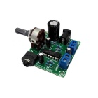 SJ2038 Mini Hi-Fi 2 x 5W Audio Amplifier Board w/ LED Indicator - Blue + Black (3~6V)