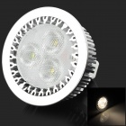GU 5.3 MR16 3W 220lm 3500K 3-CREE XPE LED Warm White Light Spotlight - Silver + White (12V)