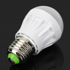 KD-QP-04-3W-NBG E27 3W 130lm 3500K 10-SMD 2835 LED Warm White Light Lamp Bulb - Milky White (220V)