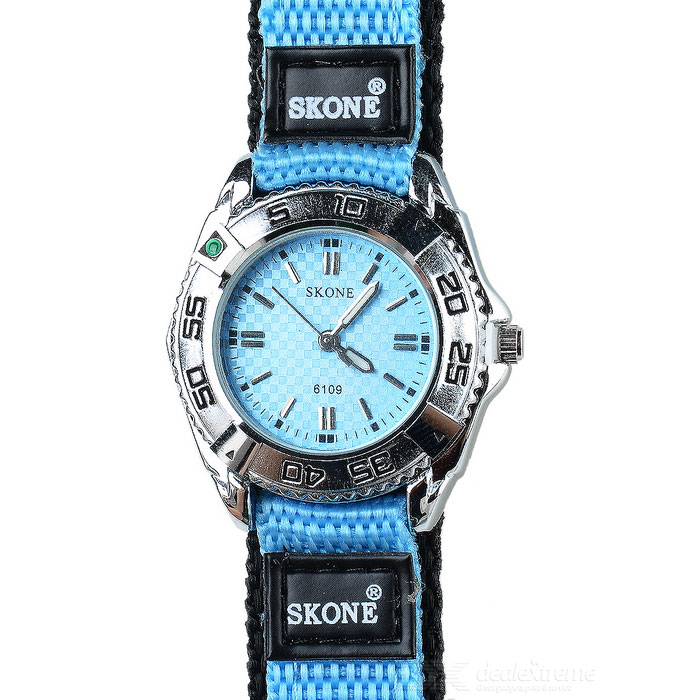 Skone Lady's Nylon Band Quartz Wrist Watch (1*LR626)
