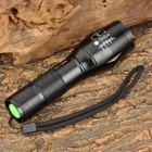 Assassin R5-T6 500lm 5-Mode Hvite Zooming lommelykt m / Cree XM-L T6-svart (1 x 18650/3 x AAA)