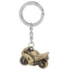 Exquisite Motorcycle Style Zinc Alloy Keychain - Bronze Color