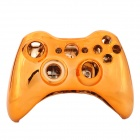 Replacement ABS Full Housing Case + Buttons / Keys Kit for Xbox 360 Wireless Controller - Orange