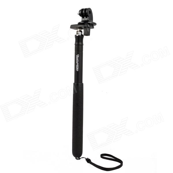 Miniisw M-M1 6-Fold Retractable Handheld Monopod for Gopro Hero 4/ 1 / 2 / 3 / 3+ three dimensional adjustable helmet side mount for gopro hero 3 3 2 1 black
