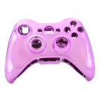 Replacement ABS Full Housing Case + Buttons / Keys Kit for Xbox 360 Wireless Controller - Pink